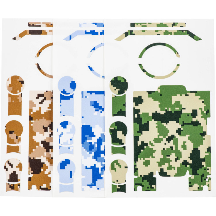 Набор из 3 наклеек Pgytech Skin for OSMO Pocket Camouflage Set (P-18C-009)